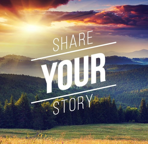 share your story email us